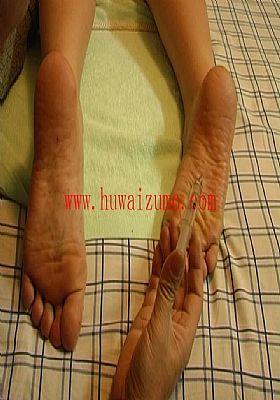 Foot Torture Dirty Pantyhosed Feet