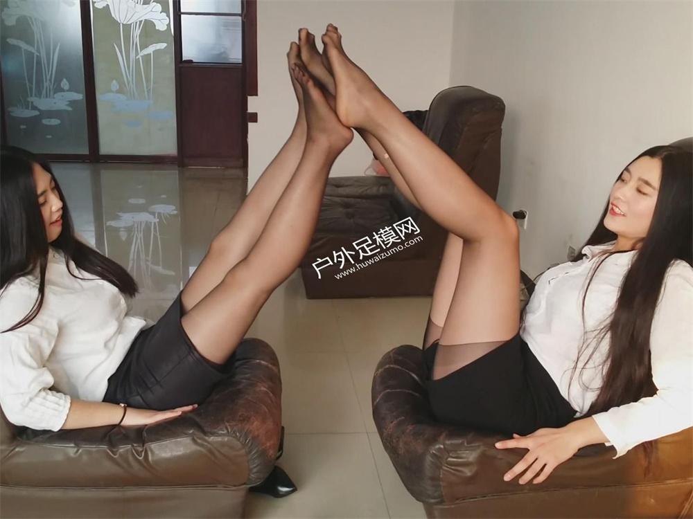 Professional pantyhose feet